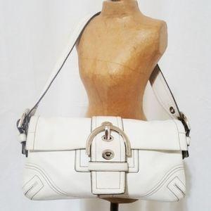 COACH | Authentic Bone white shoulder purse